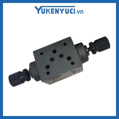 van chỉnh lưu lượng modular yuci yuken msw-04