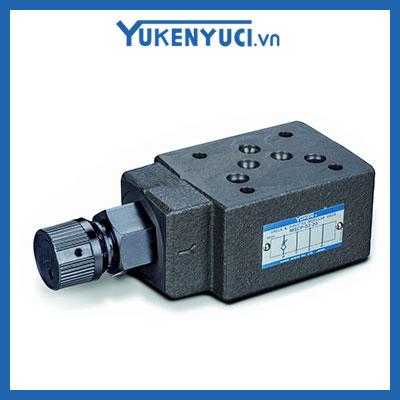 van chỉnh lưu lượng một chiều modular yuci yuken mscp-03